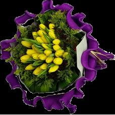 Twenty Five Tulips Bouquet  Always 25 Years Old