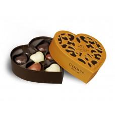 Godiva Chocolate Gold Collection Heart 6pcs